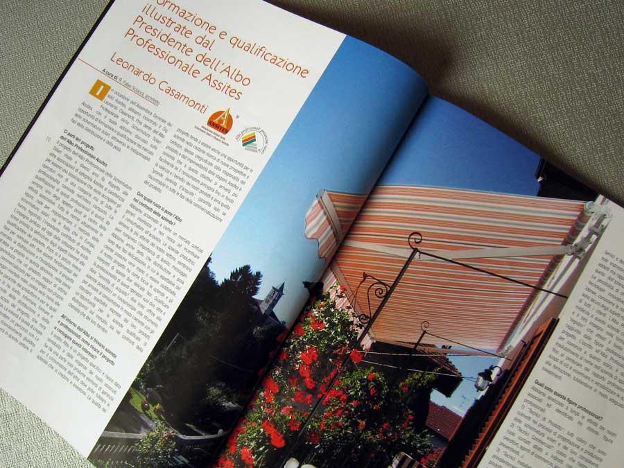 Pubblicazione 4 su rivista di tende da esterno